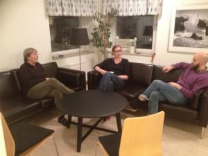 Nya möbler lokalen